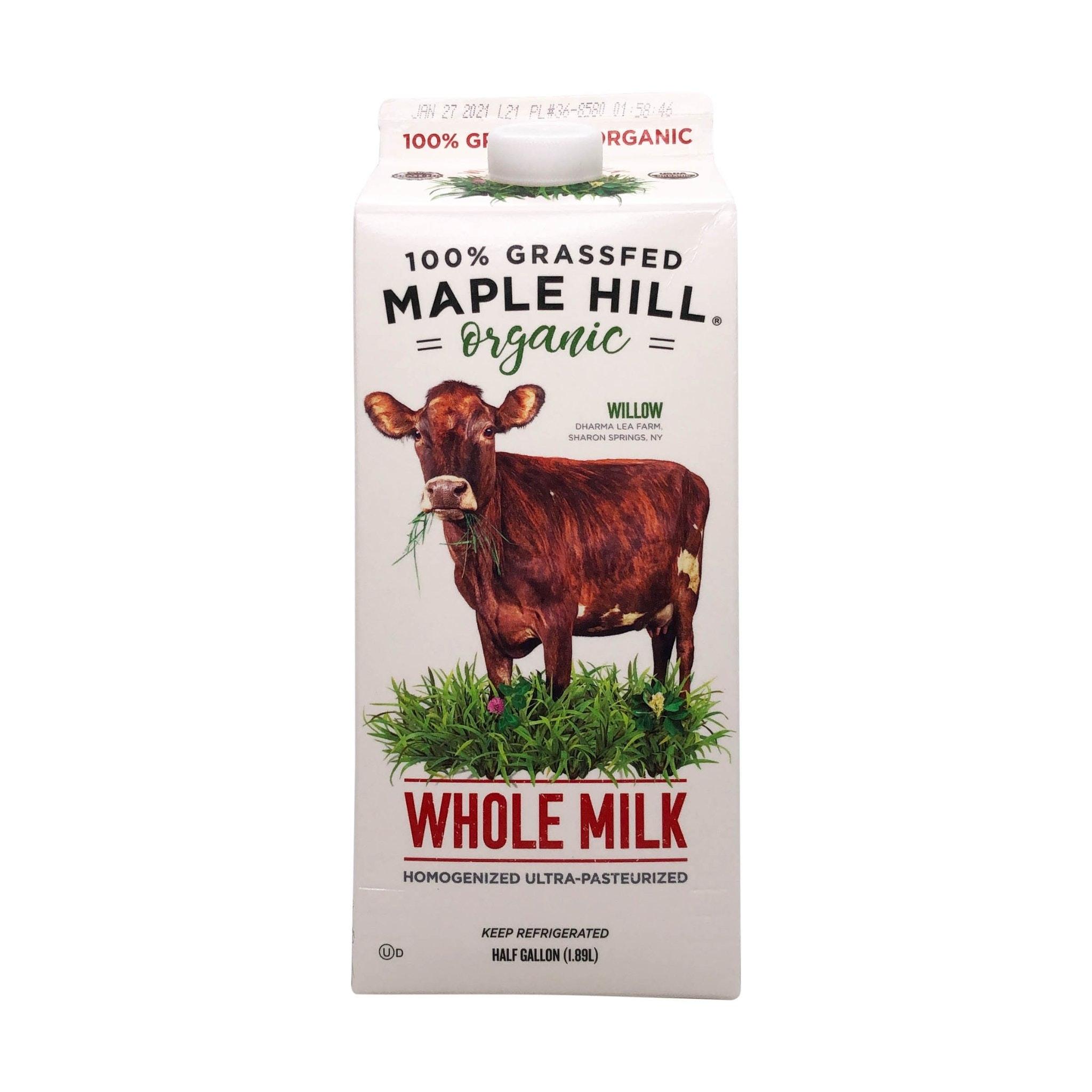 Maple Hill Grassfed Whole Milk