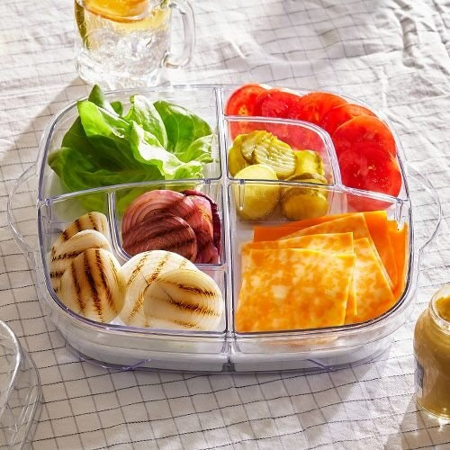 Pampered Chef Large Square Cool & Serve