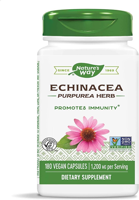 Nature's Way Echinacea Herbal Supplements