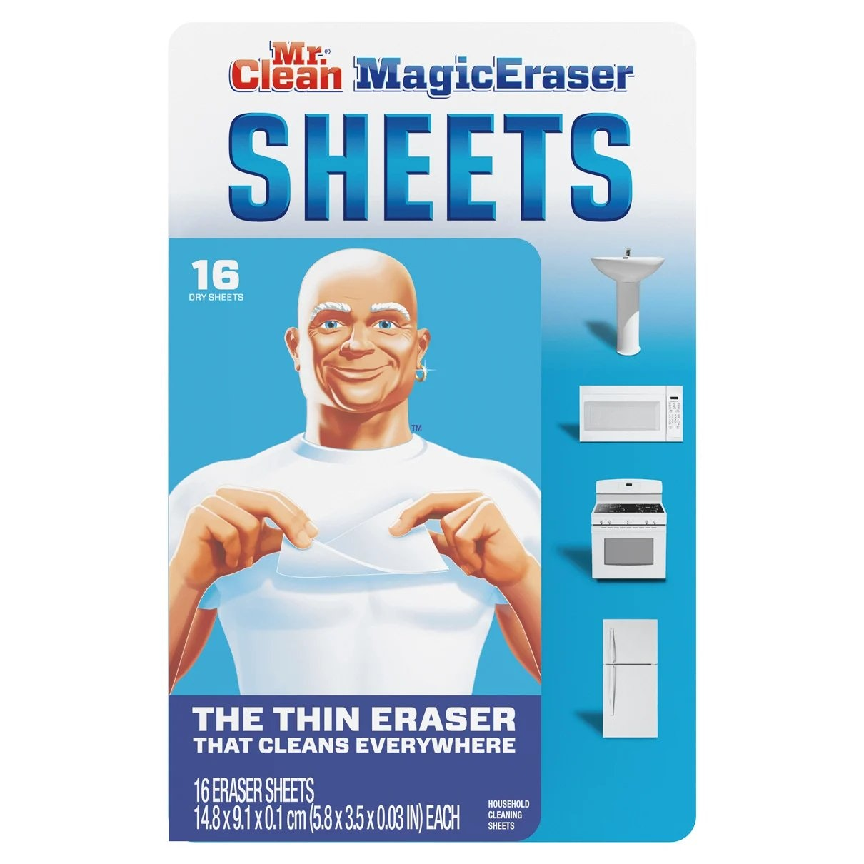 Mr Clean Magic Eraser Sheets