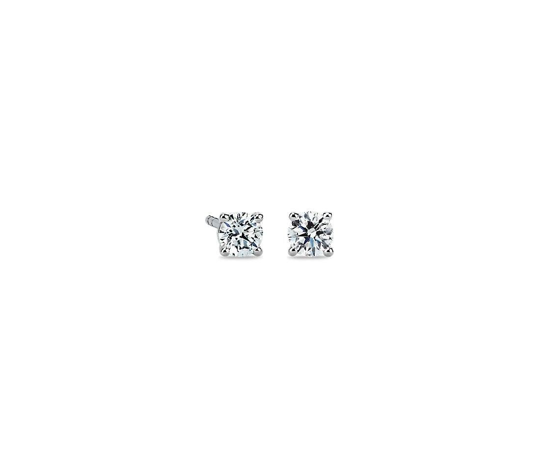 Blue Nile Diamond Earrings