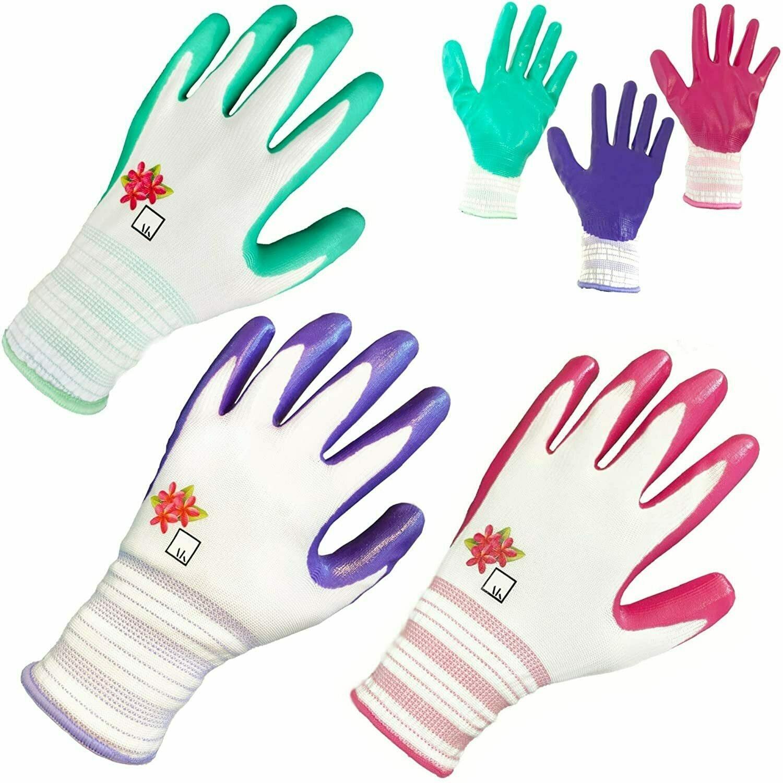 ArtAK Garden Gloves Women's Work Gloves