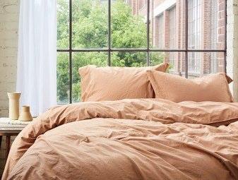Coyuchi Organic Crinkled Bedding