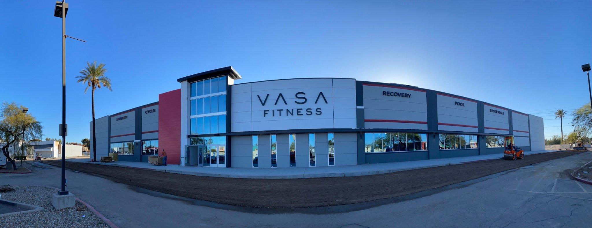 Vasa Fitness Aurora Fresh Chalk