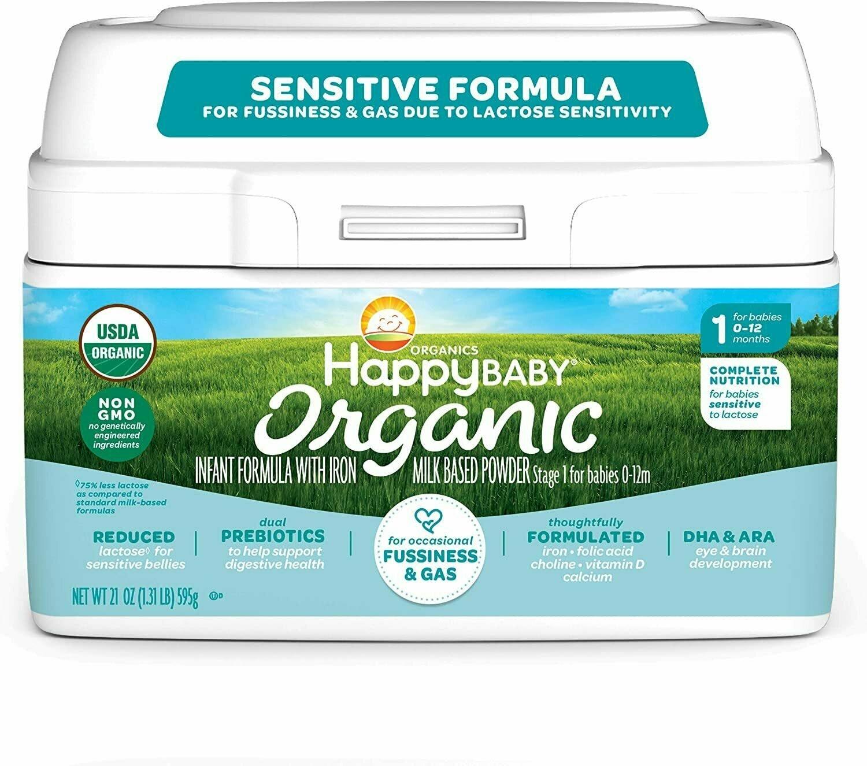 Happy Baby Sensitive Infant Formula