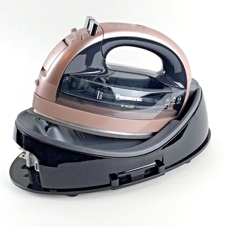 Rose Gold Panasonic 360 Freestyle Cordless Iron