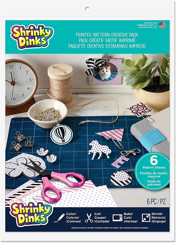 Shrinky Dinks Printed Pattern Creative Pack