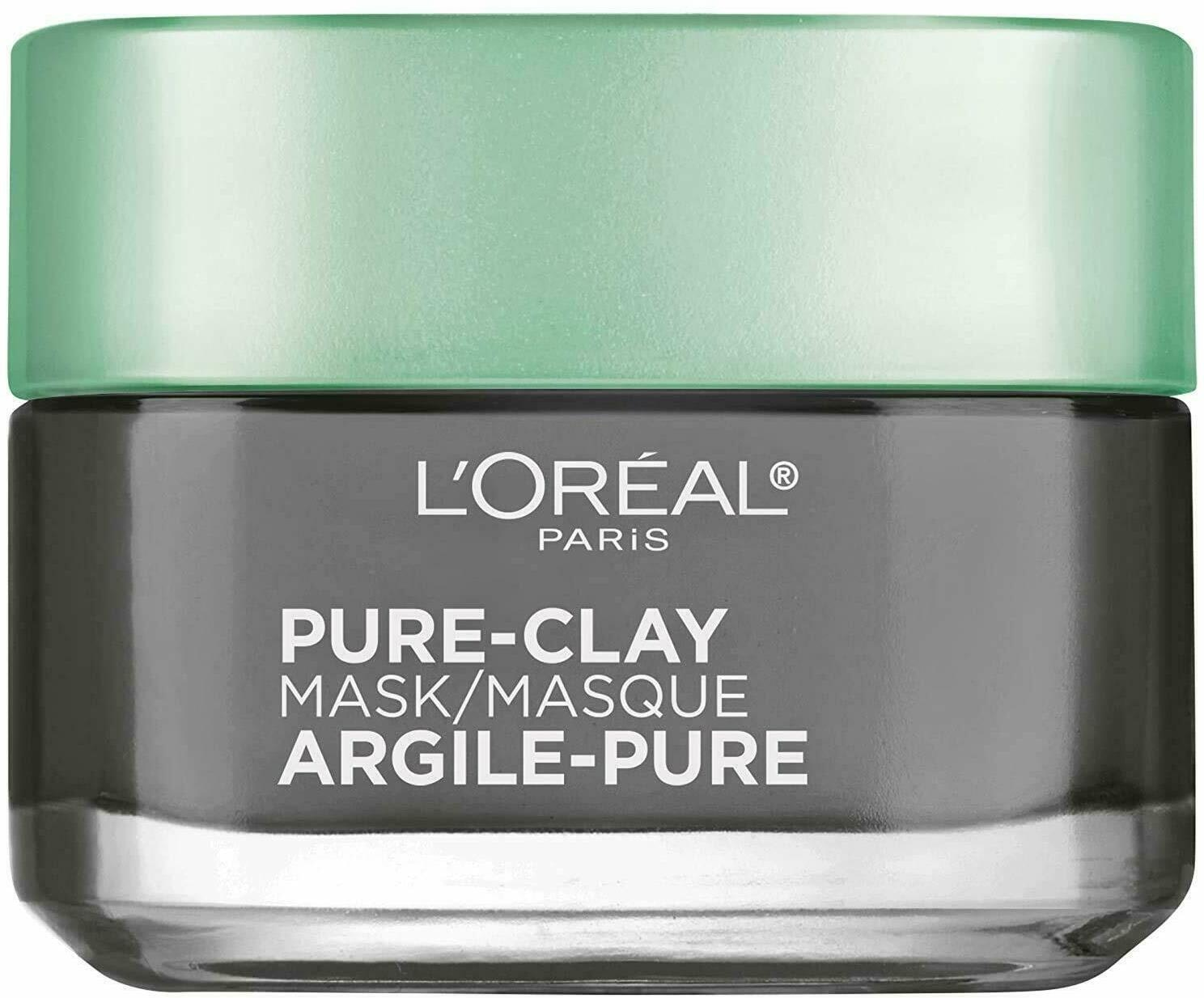 L'oreal Pure Clay Face Mask With Charcoal