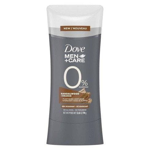 Dove Men+Care 0% Aluminum Deodorant Stick