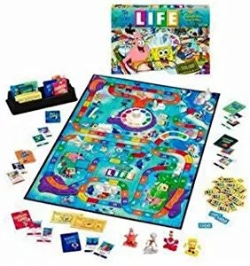 The Game of Life: Spongebob Edition