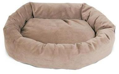 Majestic Pet Products Suede Bagel Dog Bed