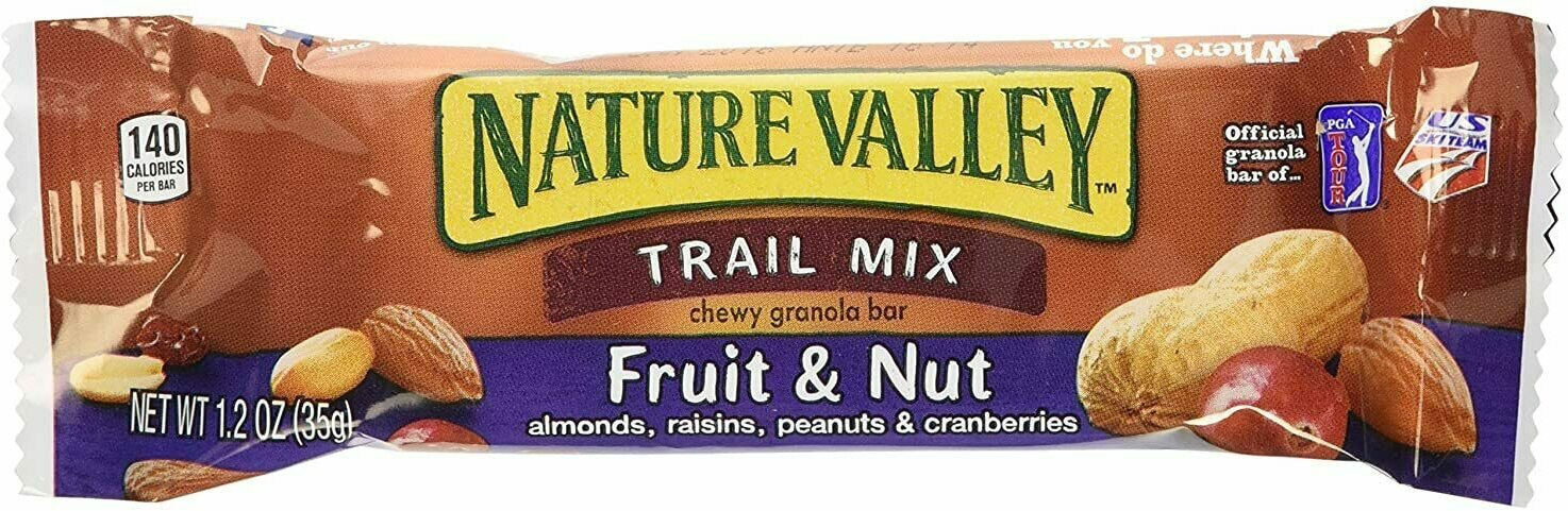 Nature Valley Trail Mix Fruit and Nut Bar