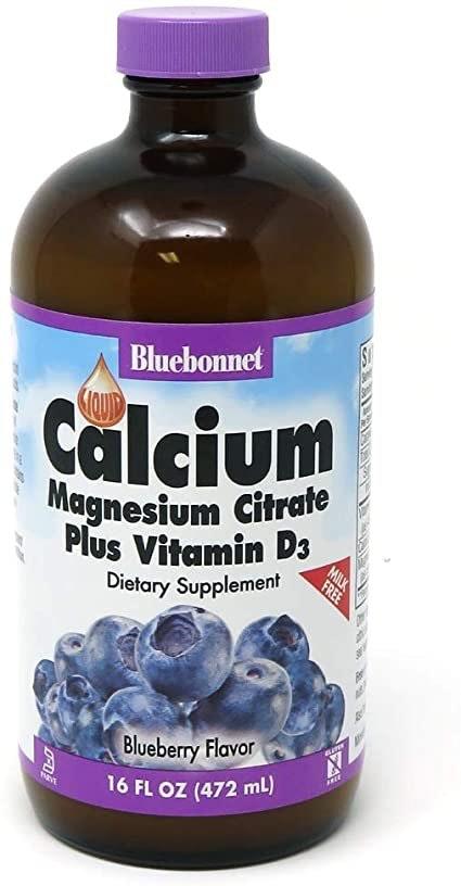 Bluebonnet Calcium Magnesium Citrate Plus Vitamin D3