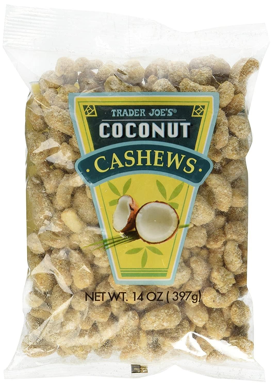 Trader Joe's Coconut Cashews
