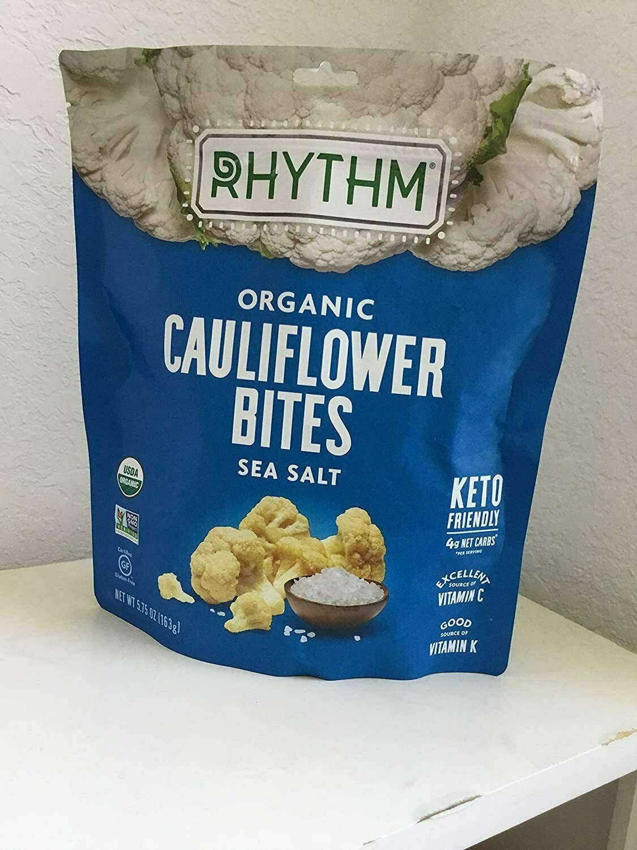 Rhythm Organic Cauliflower Bites