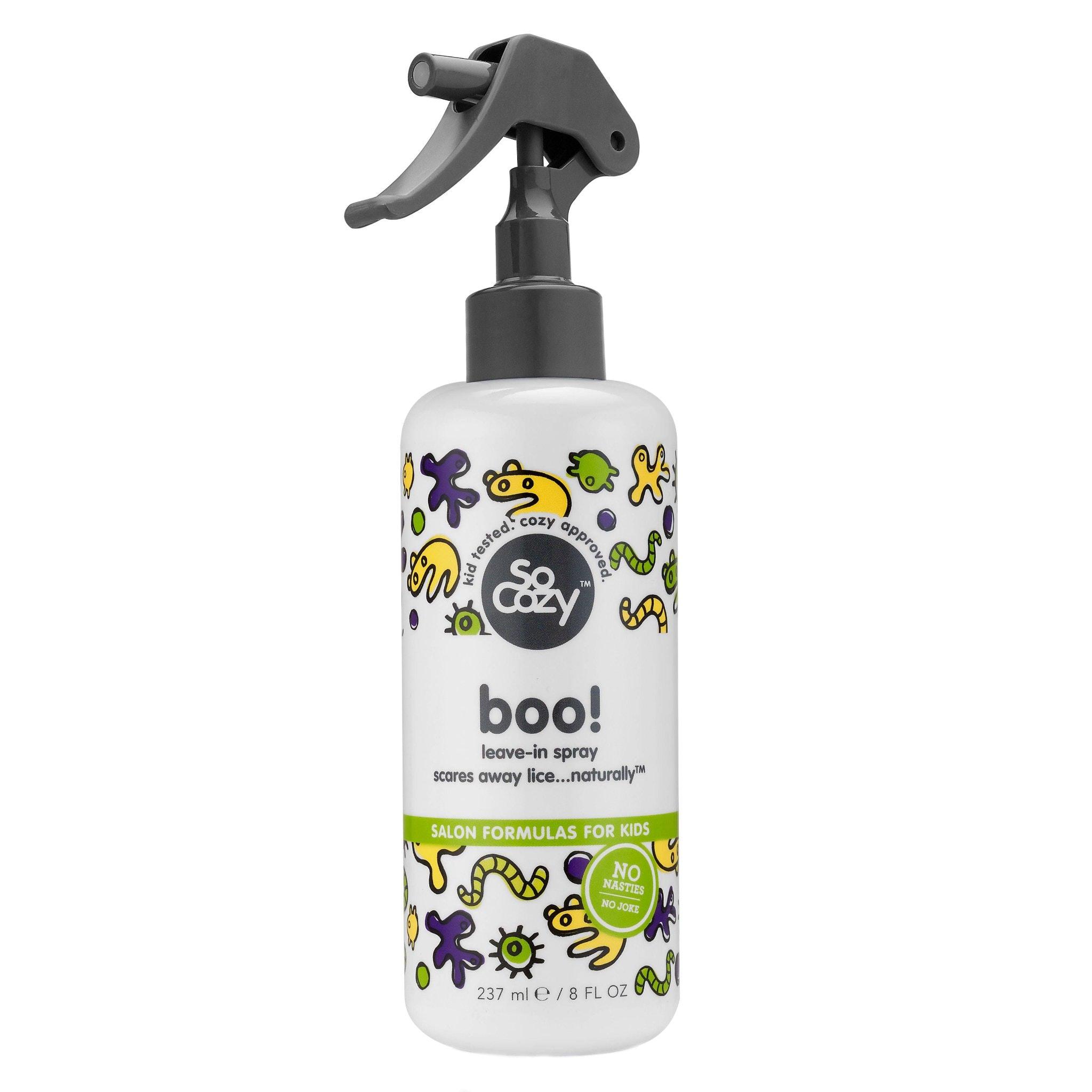 Boo! Scare Lice Leave in Spray