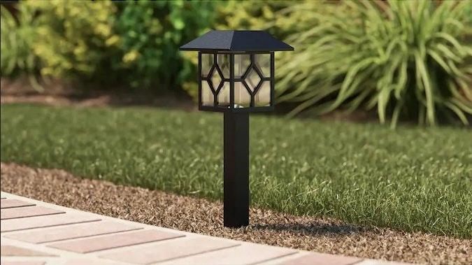 Portfolio Solar Integrated LED Pathlight