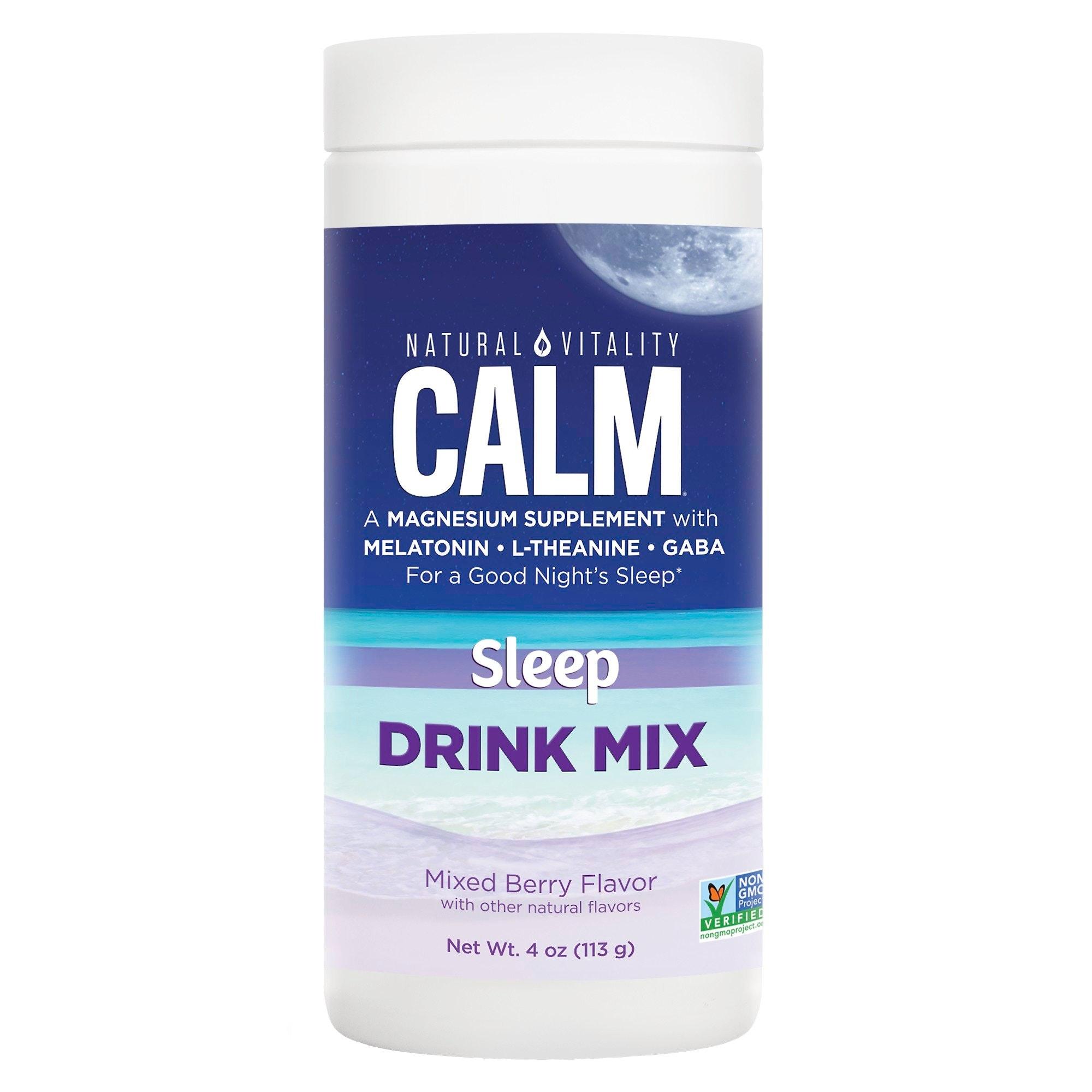 Natural Vitality Calm Sleep Drink Mix