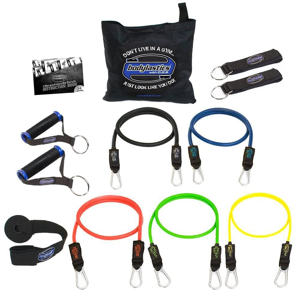 Bodylastics Stackable Tube Resistance Bands