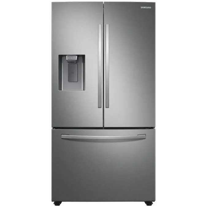 Samsung 27-Cu Ft French Door Refrigerator With Dual Ice Maker