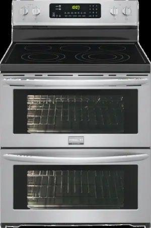 Frigidaire Gallery Freestanding Electric Double Oven Range