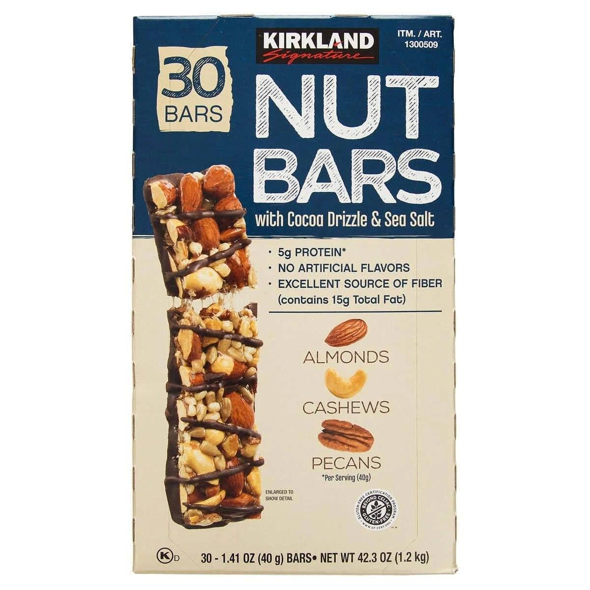 Kirkland Nut Bars
