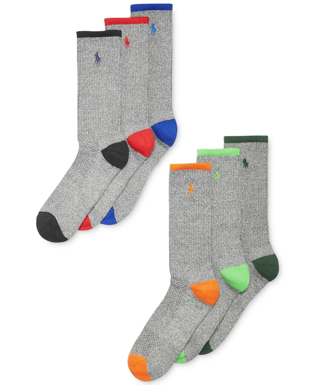 Polo Multi-Color Athletic Sports Socks