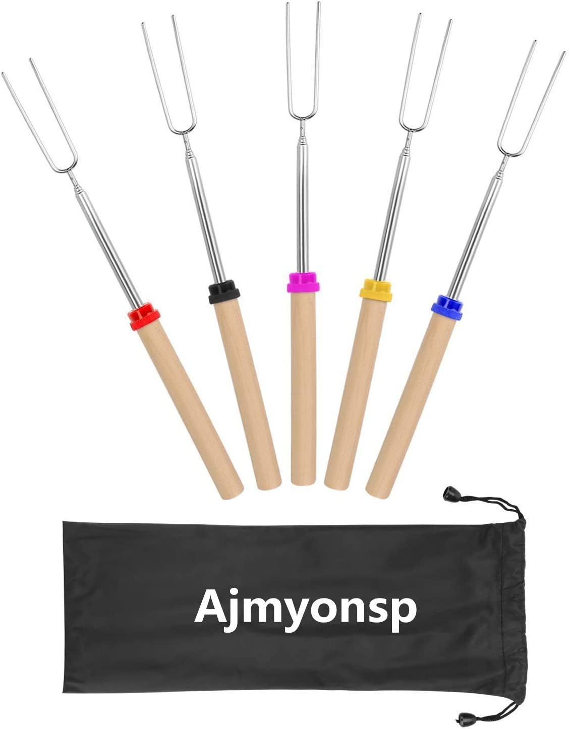 Ajmyonsp Marshmallow Roasting Sticks