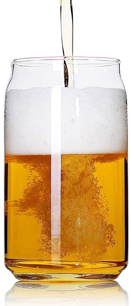 Large Beer Glasses Set of 4