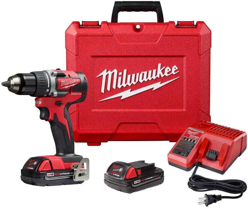 Milwaukee M18 Compact Drill/Driver Kit