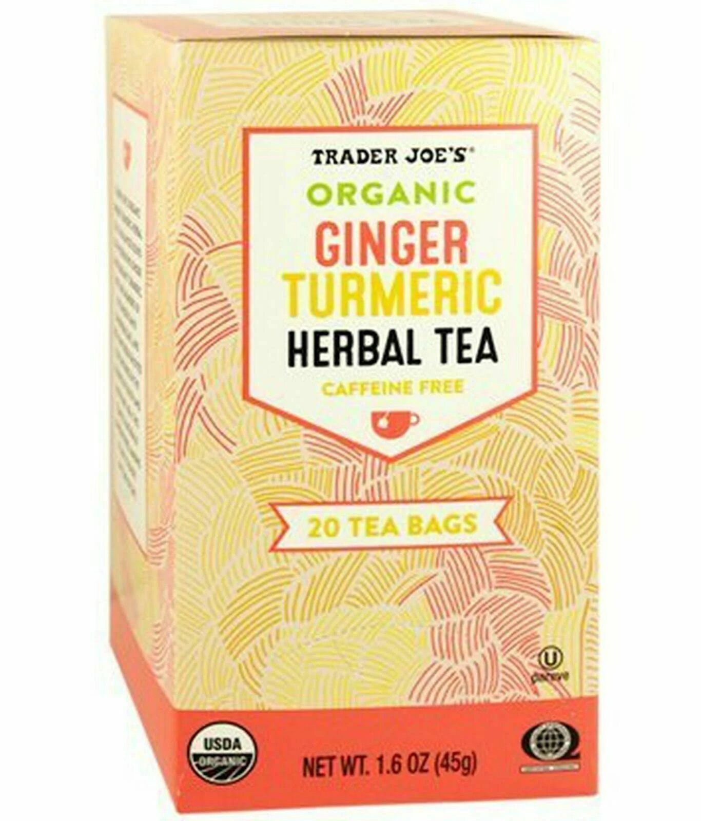 Trader Joe's Organic Ginger Turmeric Tea