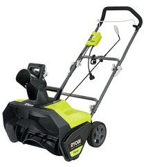 Ryobi 20 In. 13 Amp Corded Electric Snow Blower