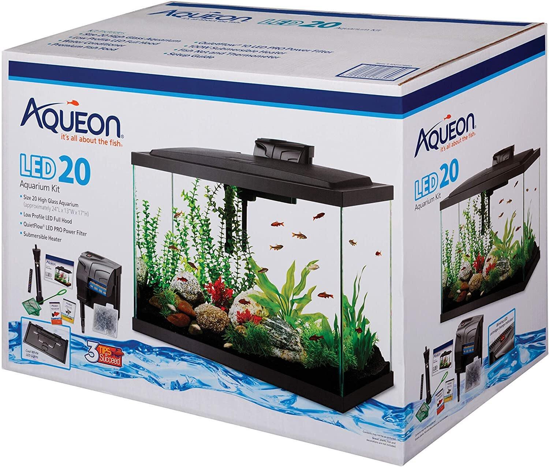 Aqueon LED 20 Aquarium Kit