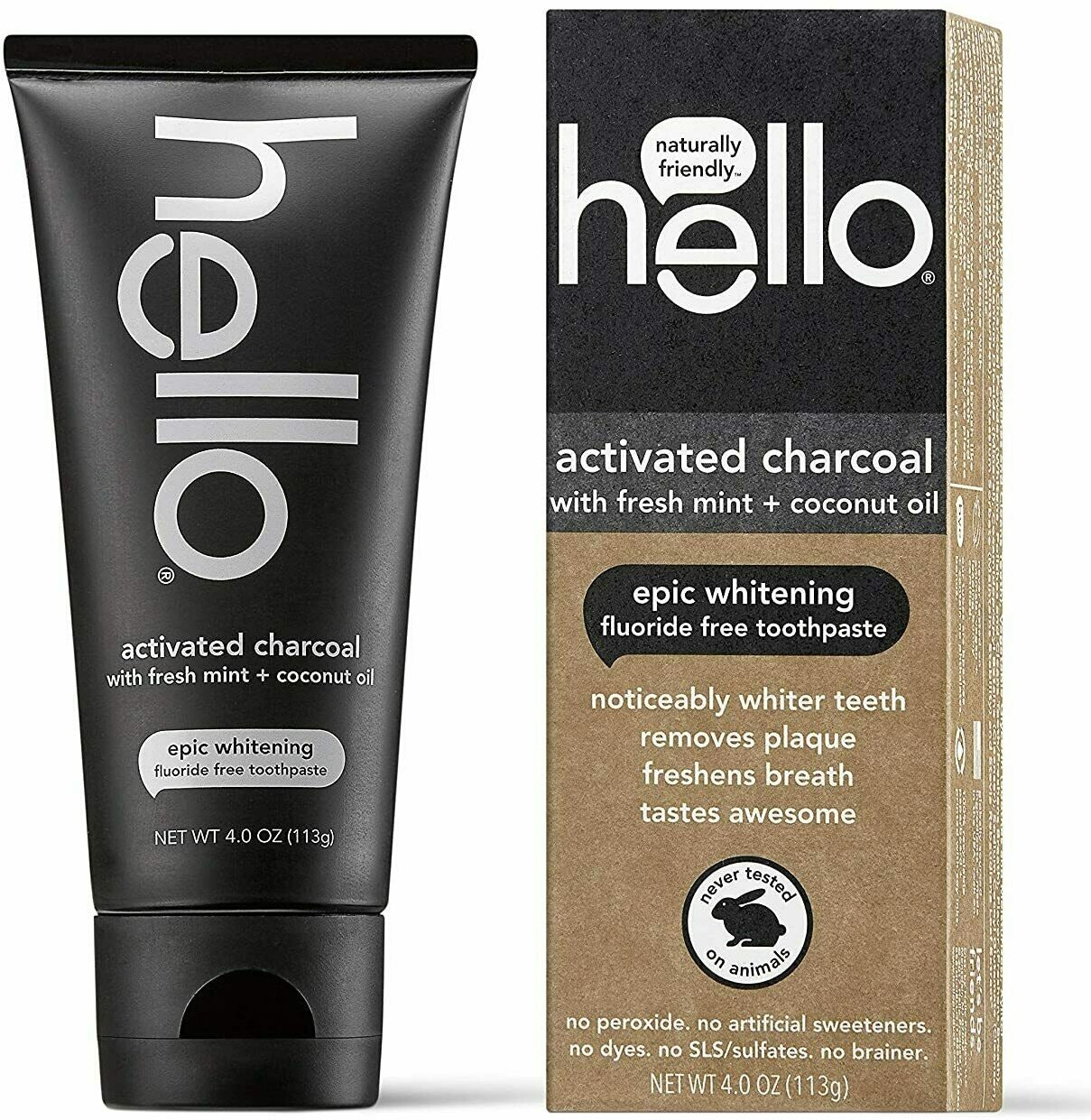 Hello Oral Care Activated Charcoal