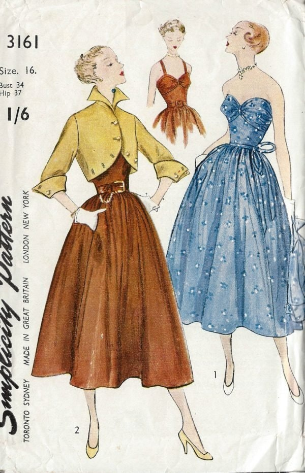 Vintage Patterns at The Vintage Pattern Shop