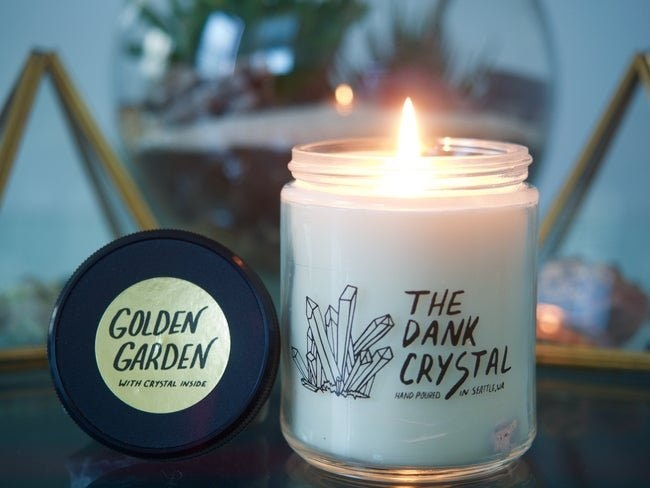 Dank Crystal Candles