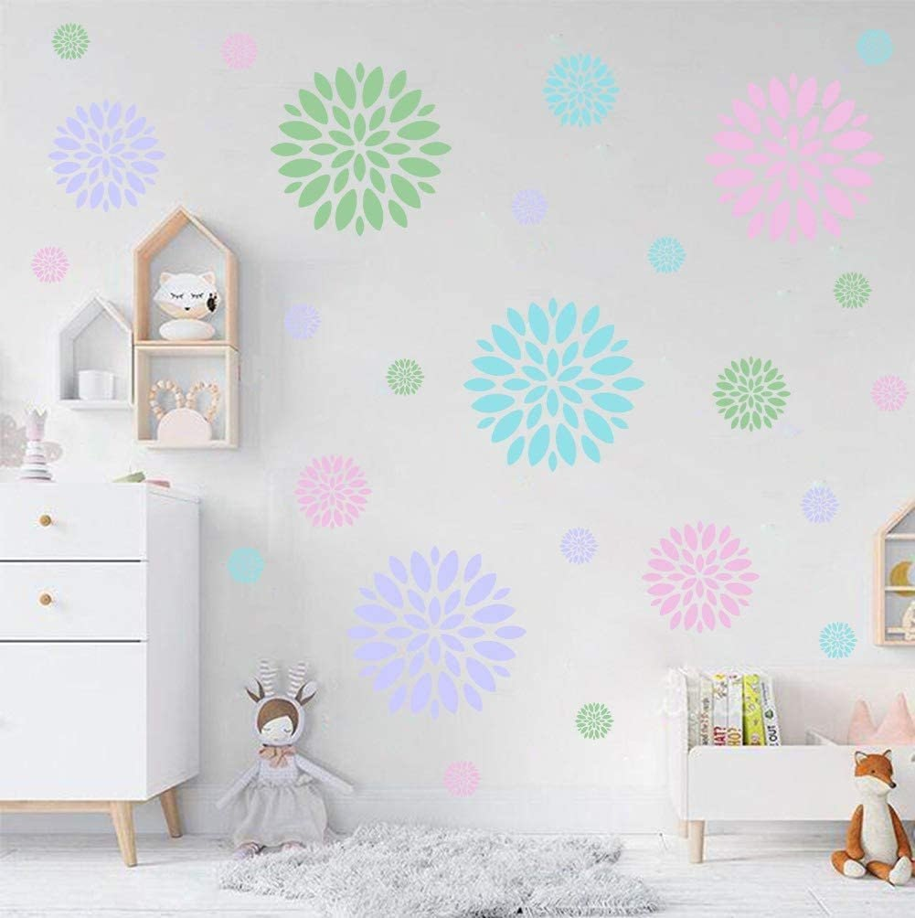 Blooming Flower Wall Decal