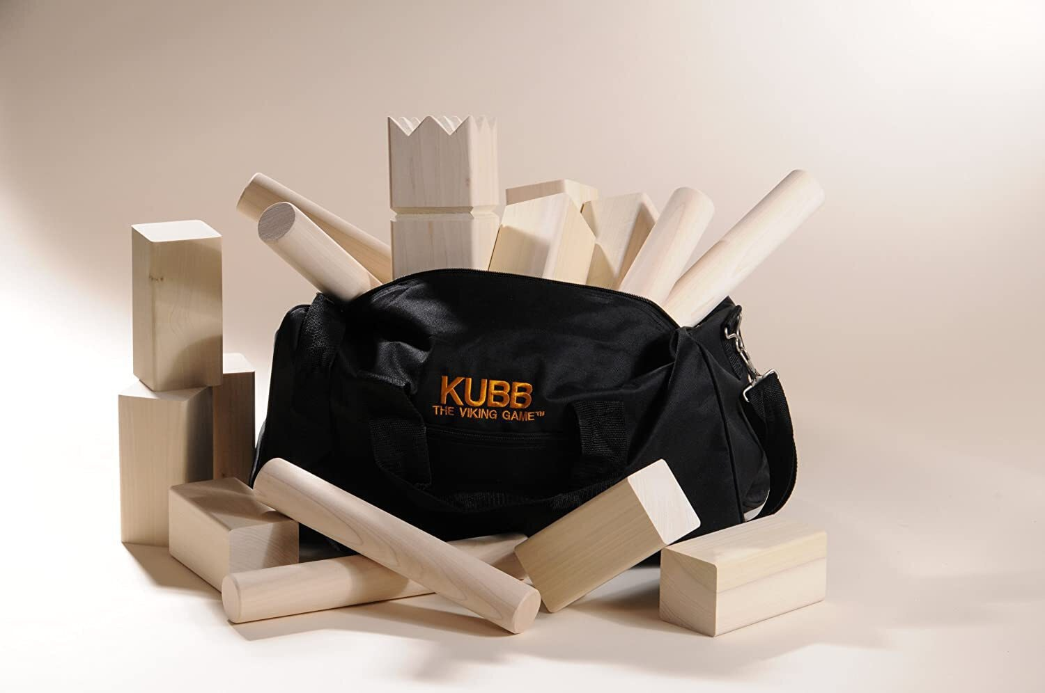 Viking Kubb Game Official Tournament Set
