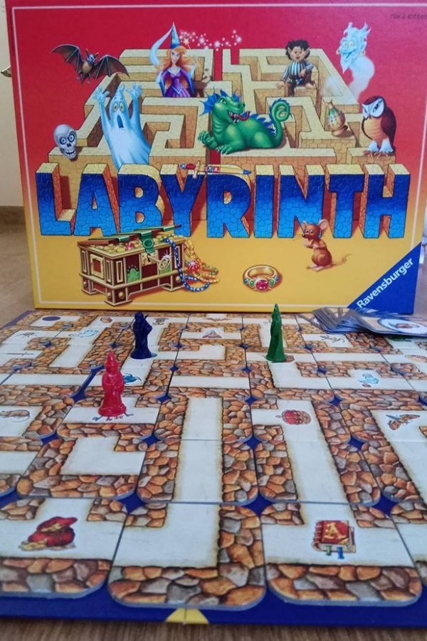 Labyrinth Family Board Game