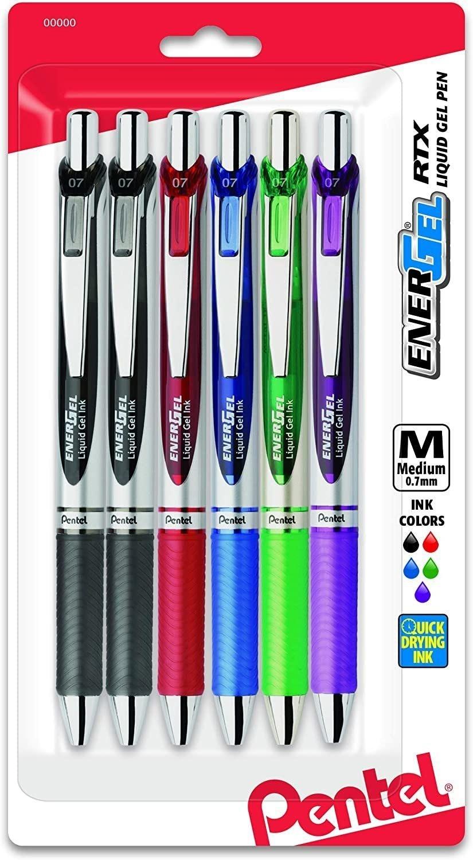 Pentel Energel Liquid Gel Pens