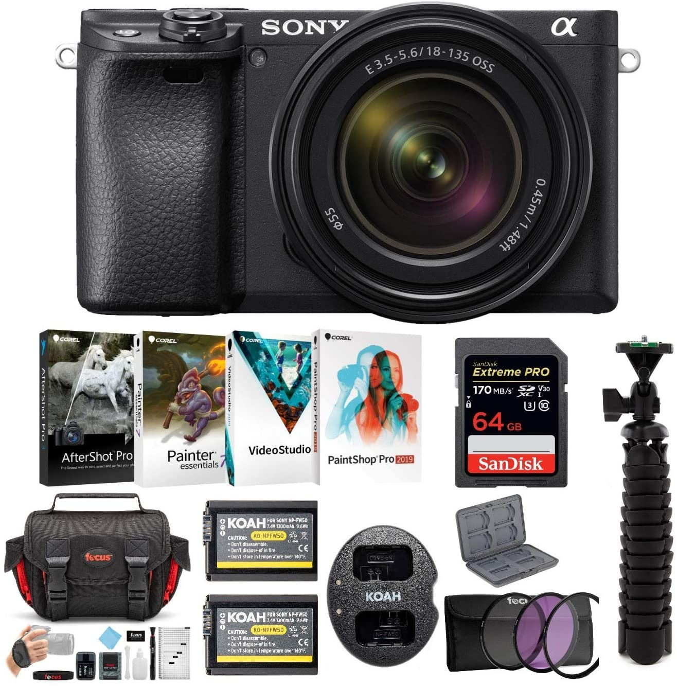 Sony a6400 Mirrorless Digital Camera
