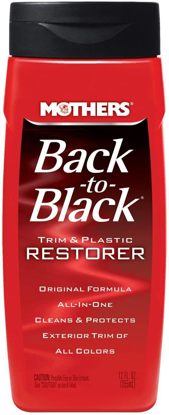 Mothers Back-To-Black Trim & Plastic Restorer