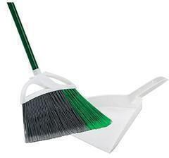 Libman Large Precision Angle Broom With Dustpan