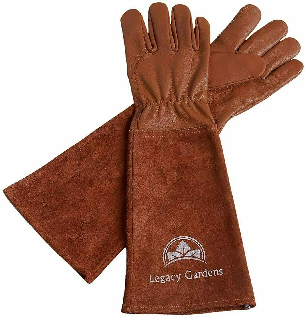 Legacy Gardens Leather Garden Gloves