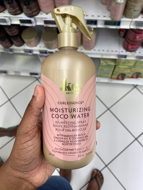 Curlessence by Keracare Moisturizing Coco Water