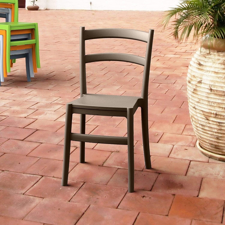 Fluellen Ladder Back Side Chair