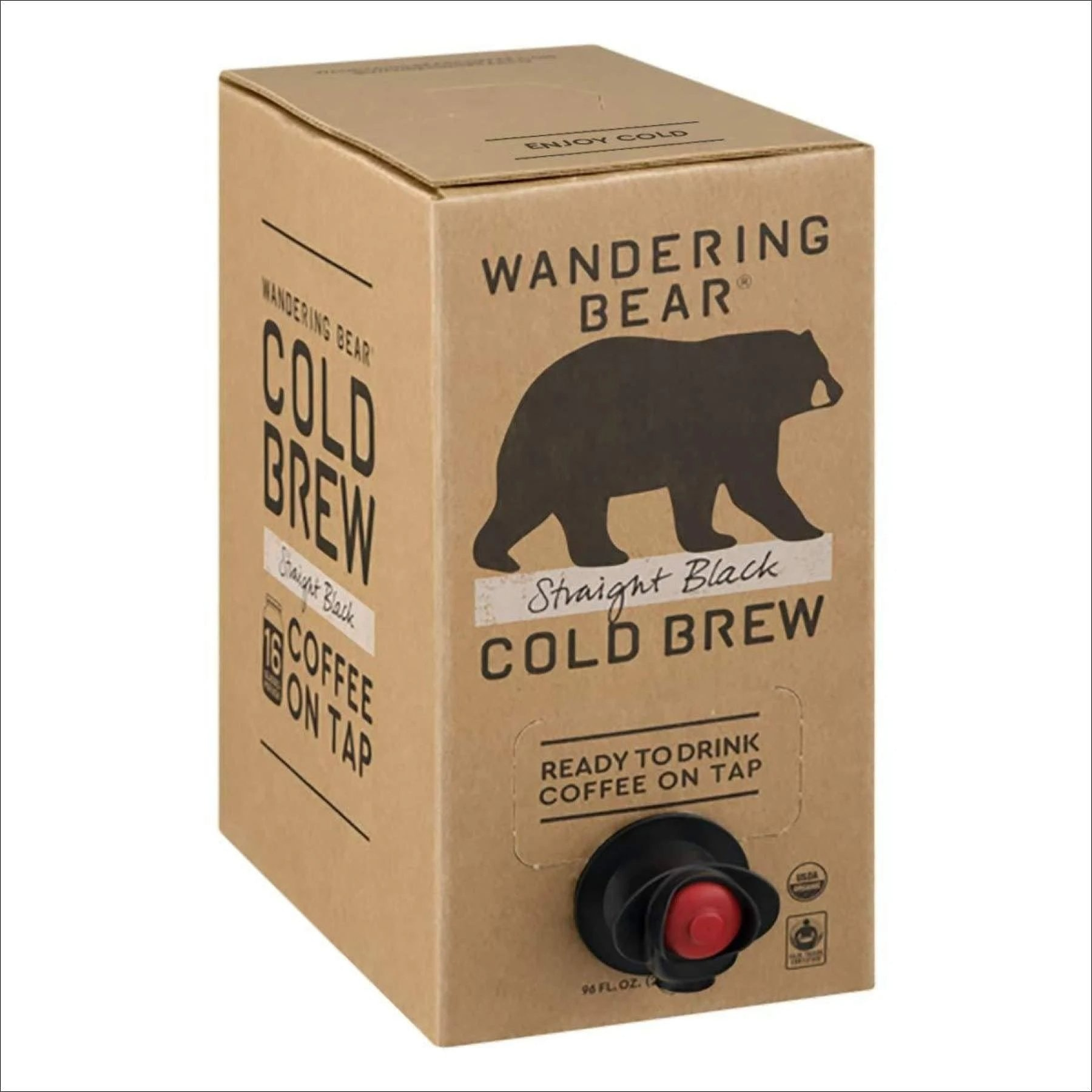 Wandering Bear Cold Brew on Tap