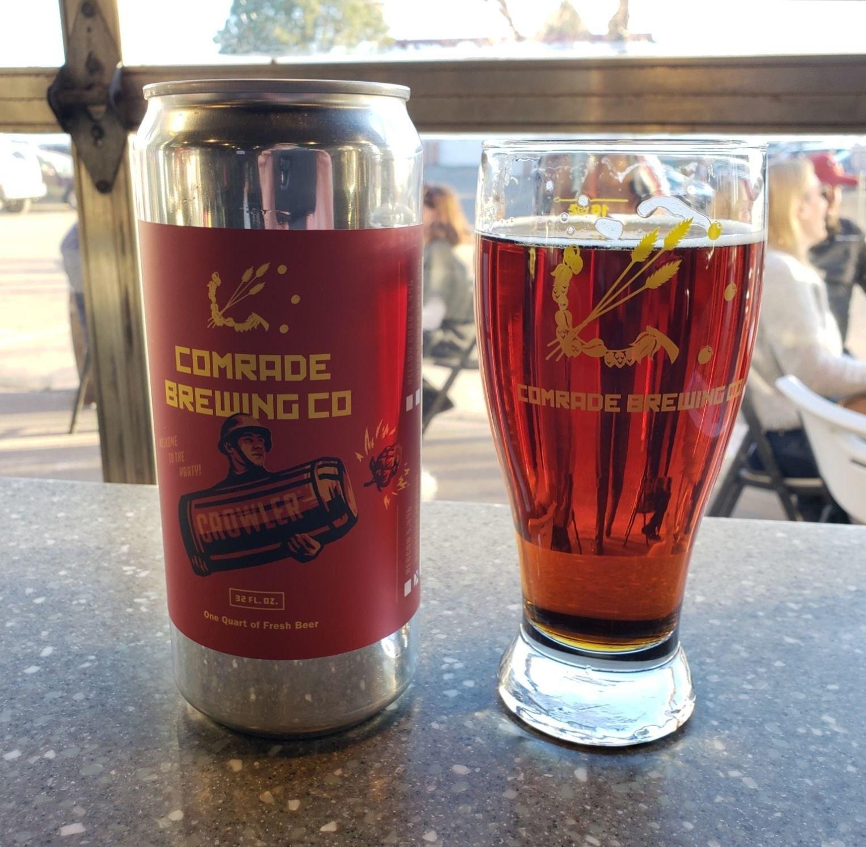 REDCON Irish Red Ale - Comrade Brewing