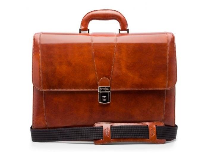 Bosca Double Gusset Brief Bag