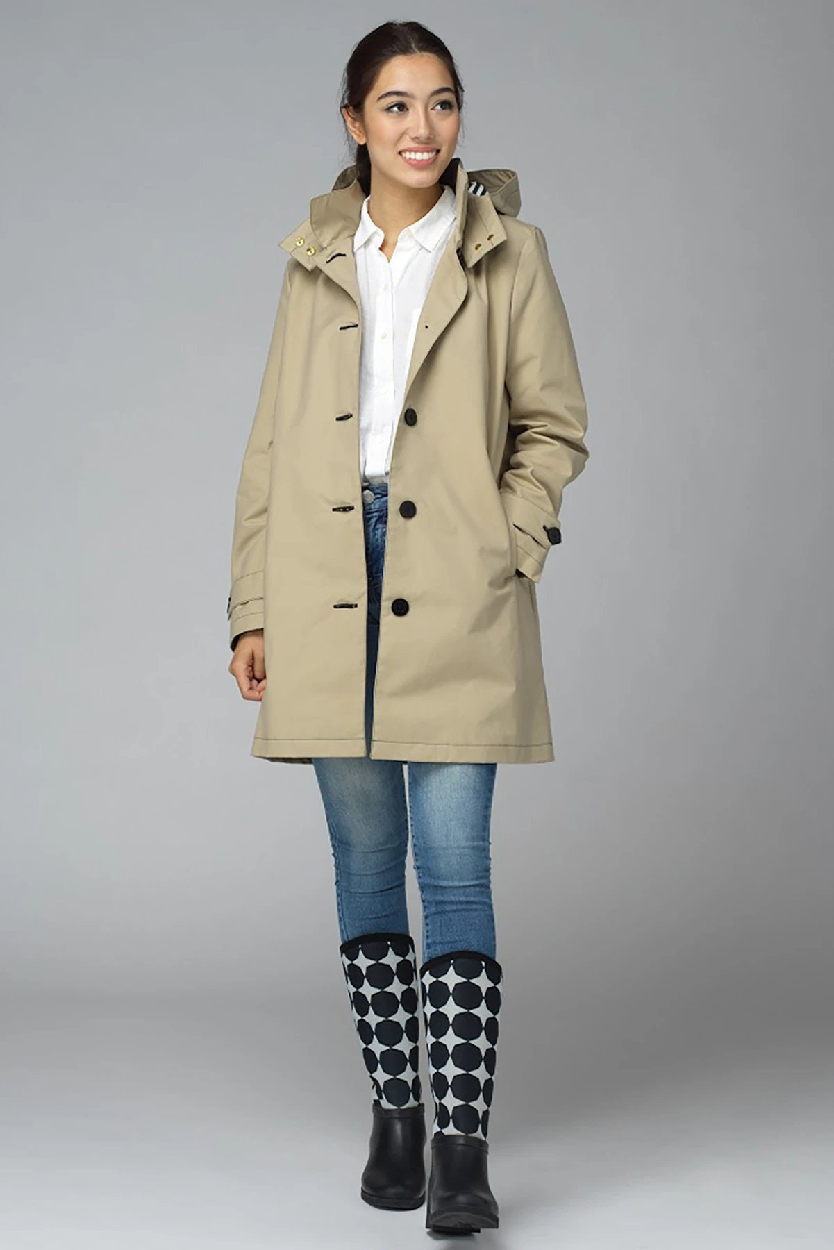 Feller Women's Queen Anne Trench